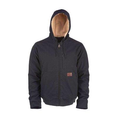 Dickies Black Farnham canvas jacket zip-up