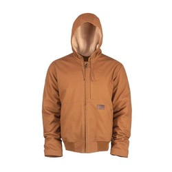 Brown Farnham canvas jacket zip-up