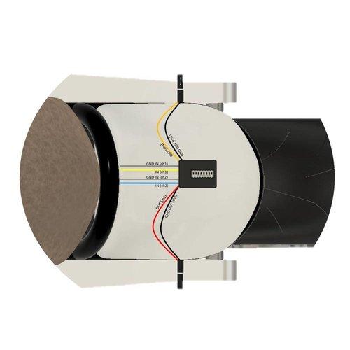Highsider CAN-BUS Widerstand CBW1 mit DIP-Schalter.