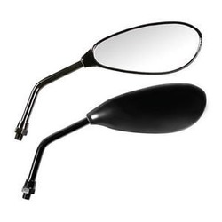 Spiegel Naked Zwart M10 Set Lampa