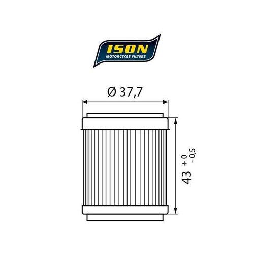 ISON 143 Ölfilter