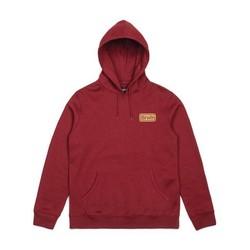 Springfield Fleece hoodie rood