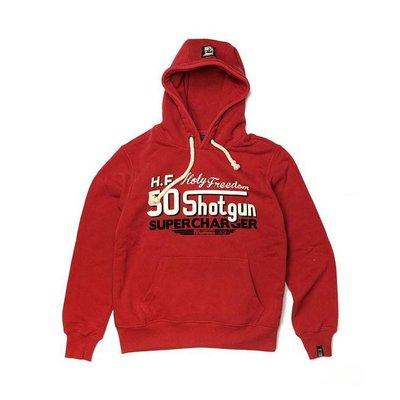 Holy Freedom hoodie shotgun Red