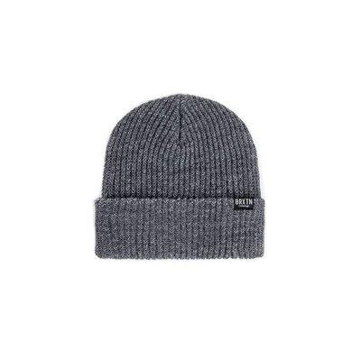 BRIXTON Redmond Mütze grau / schwarz