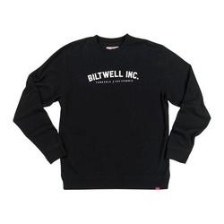 Basic sweater Crewneck zwart
