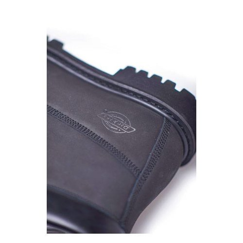 Dickies Asheville 6 '' wasserdichte Stiefel schwarz Premium Nubuckleder