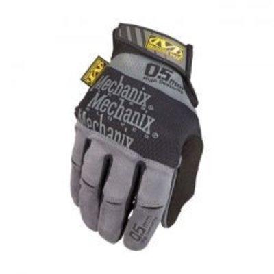 Mechanix handschoenen van 0,5 mm met een hoge vingertopgevoeligheid