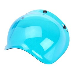 ANTI-FOG BUBBLE SHIELD BLUE