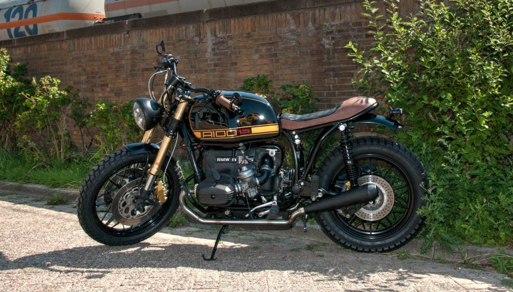 BMW R-series Classic Exhaust (R80 R100) - Motorcycles United