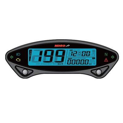 KOSO DB EX-02 Digital Multifunctioneel Dashboard 6 LED