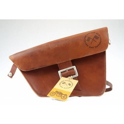 Saddle Bag / Scrambler Bag - New Brown Oxide