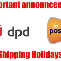 Important Announcement Shipping With The Holidays