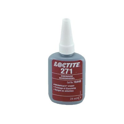 Loctite 271 RED, THREADLOCKER 24CC