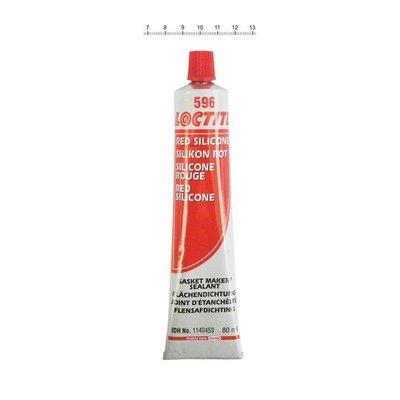 Loctite 596 RED SILICONE, 80CC TUBE