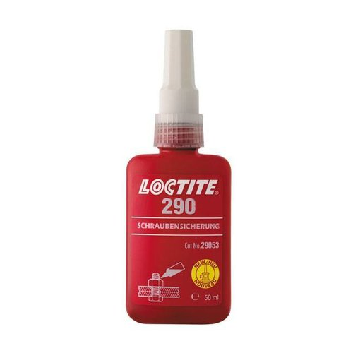 Loctite 290 GROEN, DRAADSLOTER 50CC