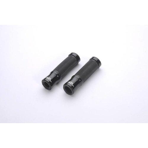 LSL Griffstangen aus Aluminiumgummi, 125 mm, schwarz