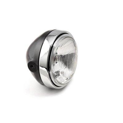 LSL Scrambler Head Light, black/chrome