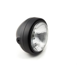 Scrambler Head Light, zwart / zwart