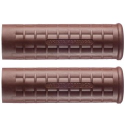 "1"" (Set) Grips AH ROAD '60-BROWN"