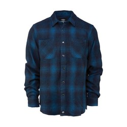 LINVILLE LONG SLEEVE SHIRT DARK TEAL