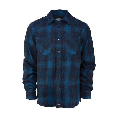 Dickies LINVILLE LANGARM-SHIRT DUNKLE TEAL