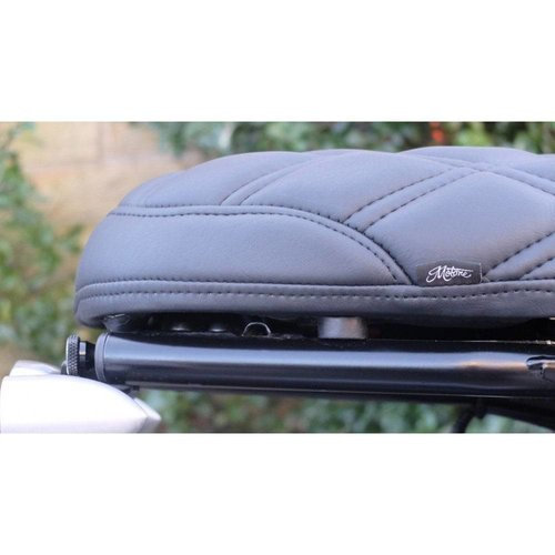 Motone Bonneville Skinny Seat - The Mamba - Schwarz