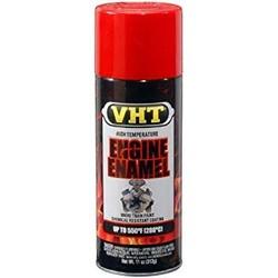 Engine enamel bright red
