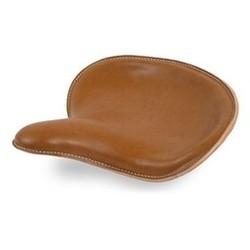 Selle Solo Breed en cuir brun style 1925