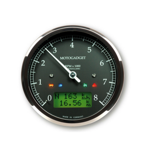 Motogadget Chronoclassic 8,000 RPM - chrome