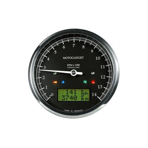 Motogadget Chronoclassic 14.000 U / min - chrome