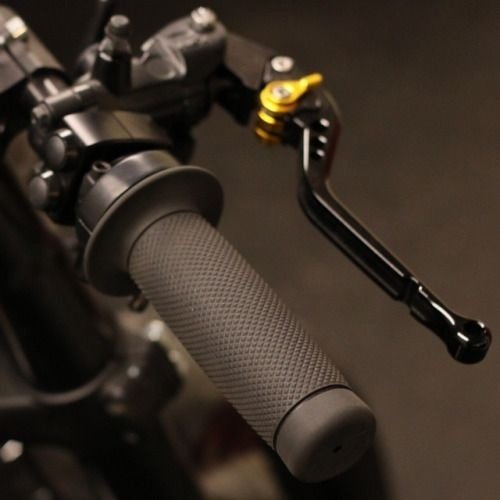 Biltwell 22mm Renegade Schwarz Griffe  TPV