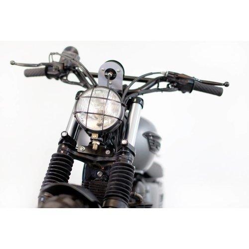 """Biltwell Thruster 1"""" Handvatten Zwart TPV"""