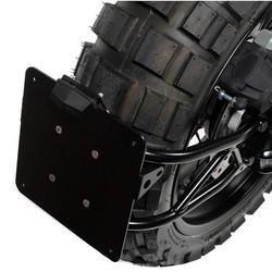 BMW R NineT Plate Holder Black - Low