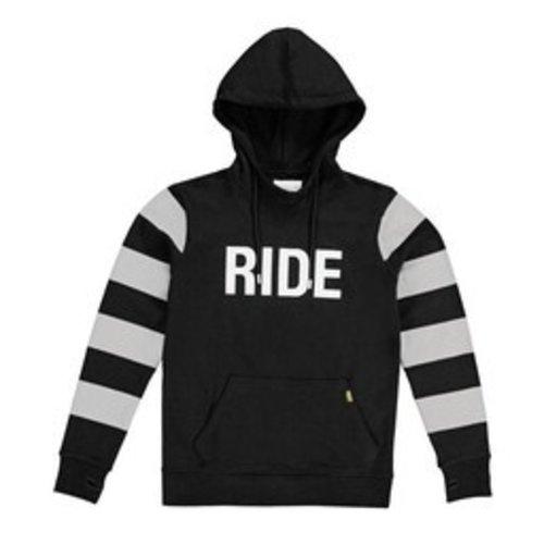 Roeg Ringo hoodie zwart/grijs