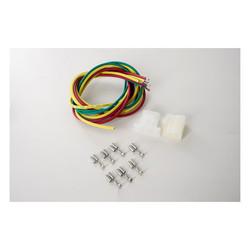 Wiring harness connector kit  Duc 2006 1000     1999 748     748cc  98-02 900  Hon 87-90 CBR600   94-03 VF750C V45   86-87 VFR700F   1986 VFR750F  98-99 VFR800 Interce