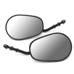 Universal HD Look Mirror Set - Matt Black