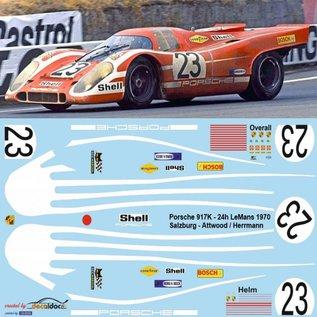 PORSCHE 917 / ATTWOOD / HERRMANN