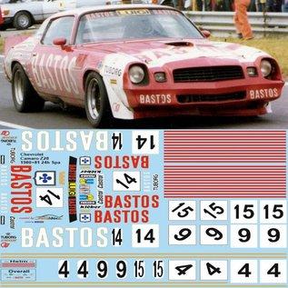 CAMARO Z28 / BASTOS SPA 1980/81