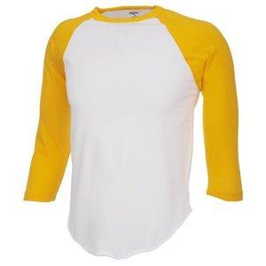 Ondershirt 3/4 Geel