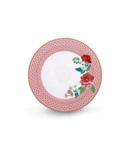 Pip Studio Floral dinerbord Rose 26 cm Rose