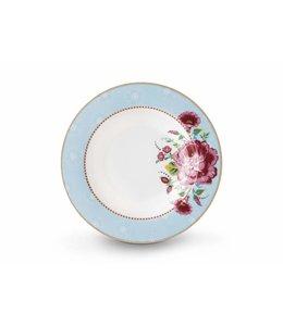 Pip Studio Floral soepbord Rose 21 cm Blauw
