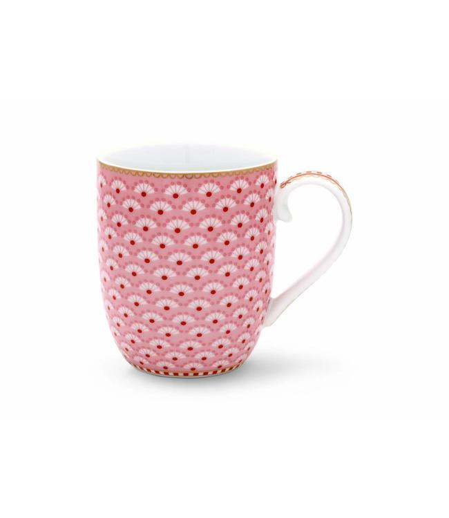 Floral mok klein Bloomingtails Roze