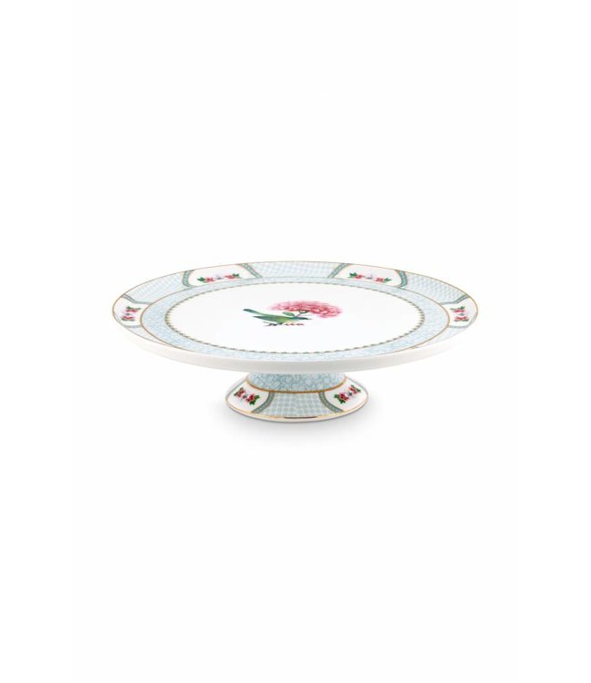 Blushing Birds rond taartplateau wit 30,5 cm  Blushing Birds rond taartplateau wit 30,5 cm