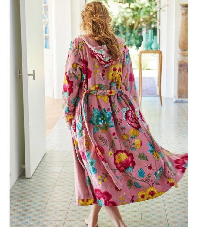 Pip Floral Fantasy Badjas Roze