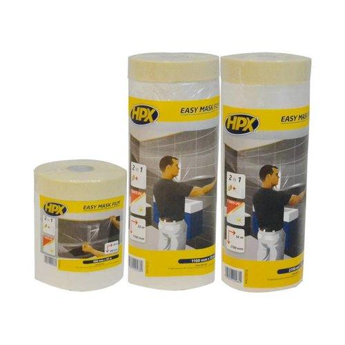 HPX HPX Transparante folie met masking tape