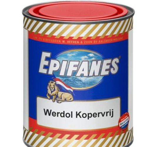 Epifanes Epifanes Werdol Kopervrij (kopervrije onderwaterverf)