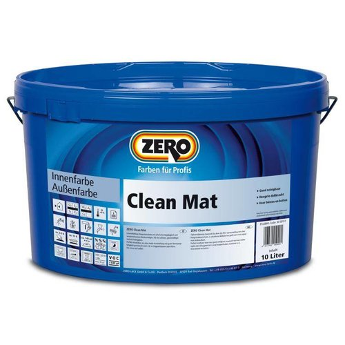 Zero Coatings Clean Mat Muurverf