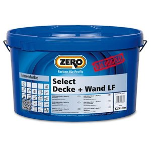 Zero Coatings Select Decke + Wand LF  Muurverf