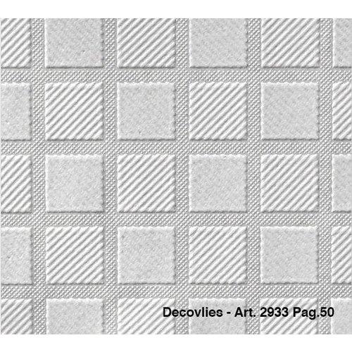 Intervos Glasweefsel behang Decovlies 2933 Intervos rol 25m x 1,06m