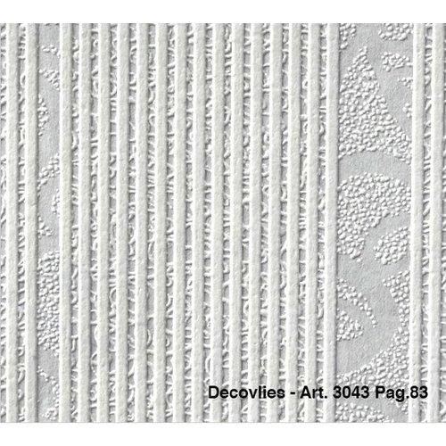 Intervos Glasweefsel behang Decovlies 3043 Intervos rol 25m x 1,06m